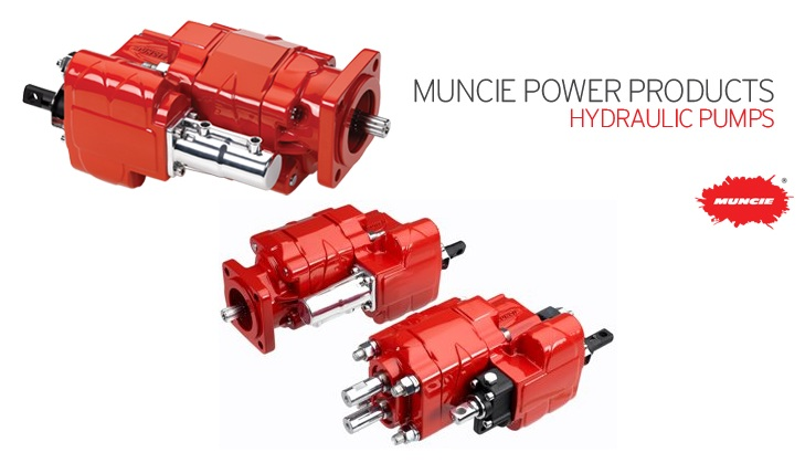 Muncie Hydraulic Pumps